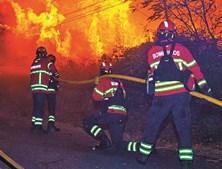 Combate ao incêndio