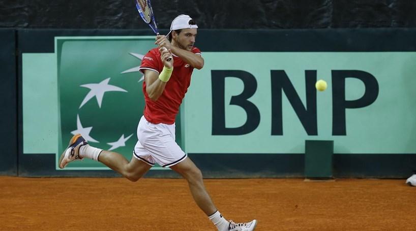 João Sousa foi o herói da vitória de Portugal na Taça Davis ... 9a0bef738d3db