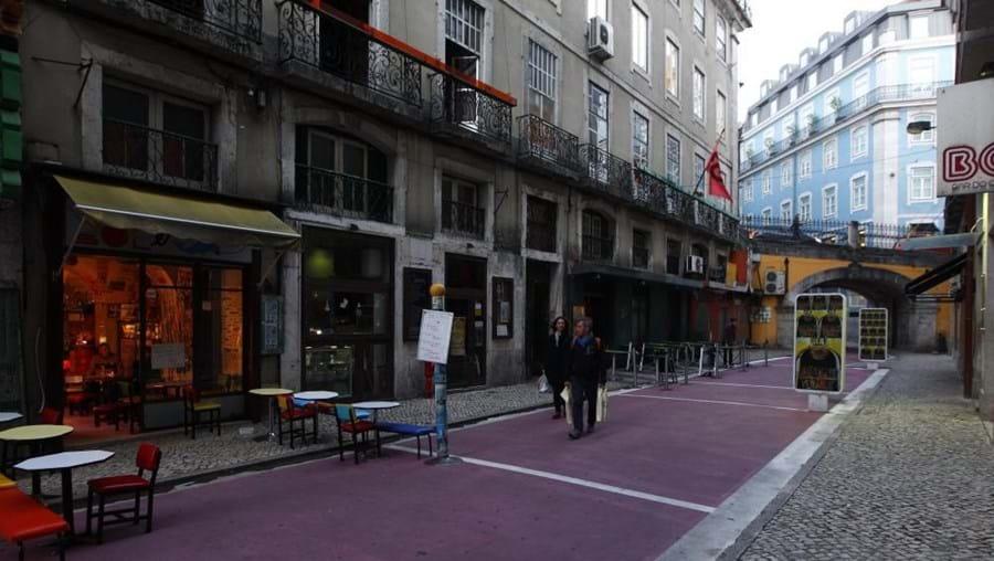 Rua Cor-de-rosa, no Cais do Sodré