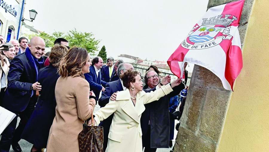 Descerramento da placa da rua António Marques Mendes foi um dos momentos da homenagem ao advogado e político