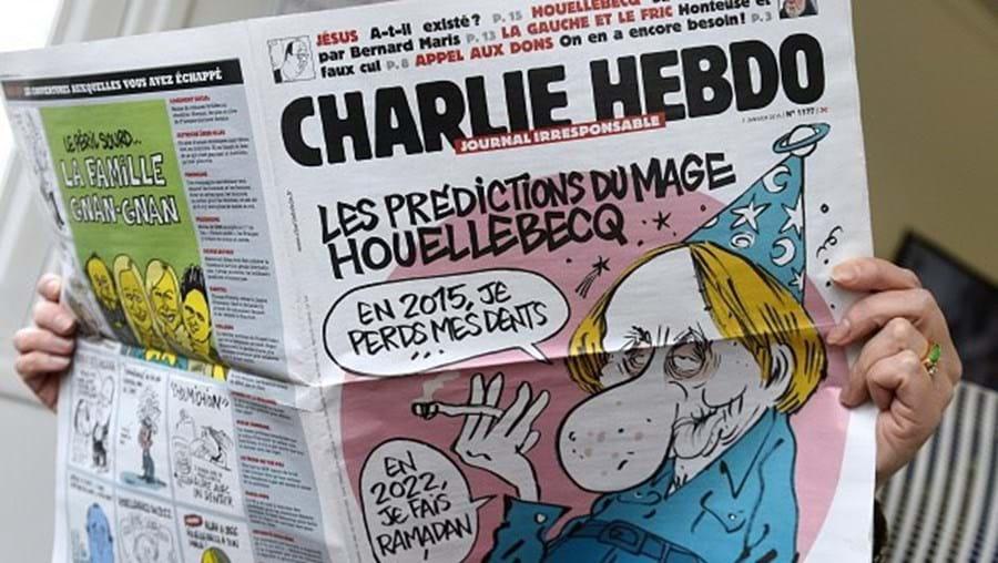 Jornal satírico Charlie Hebdo