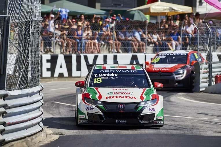Tiago Monteiro na corrida de Vila Real