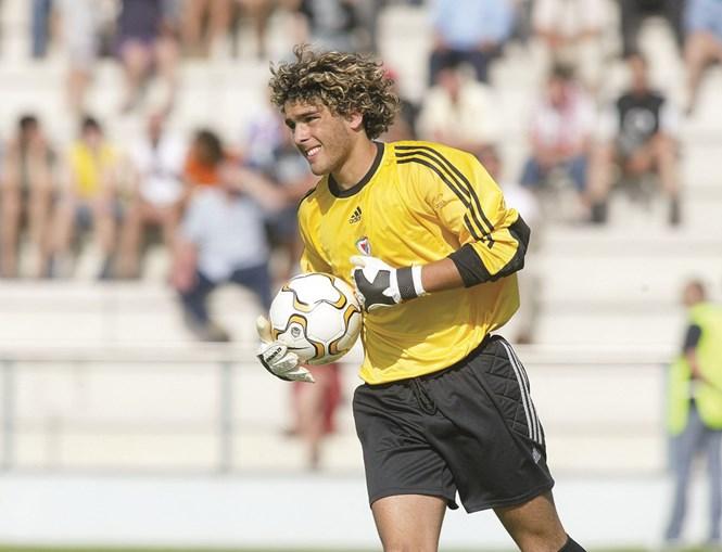 Guarda-redes era considerado uma promessa no Benfica