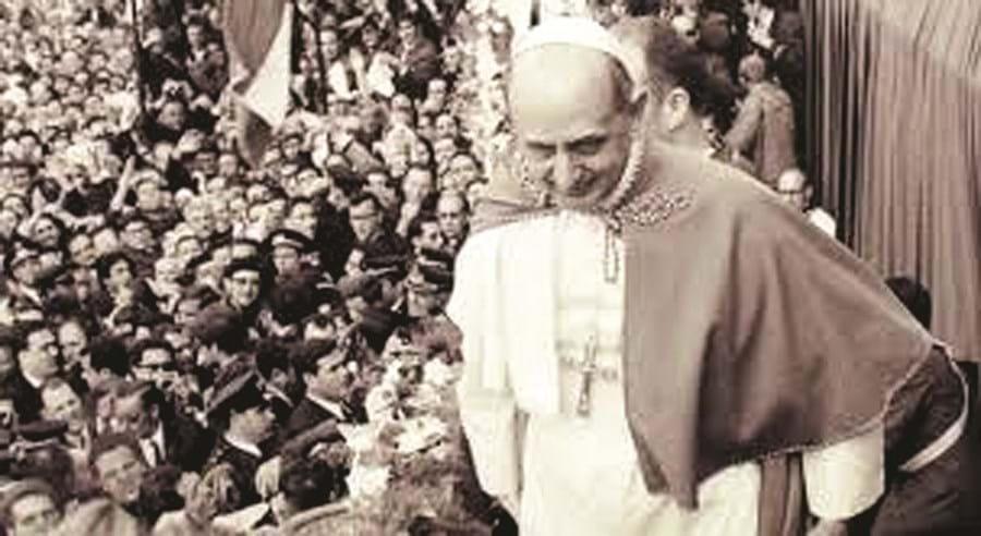 A visita de Paulo VI a Fátima, em 1967, foi a primeira vez de um Papa em Portugal