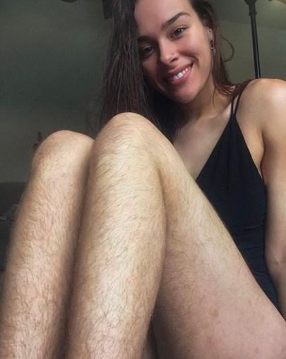Morgan Mikenas não se depila há mais de um ano