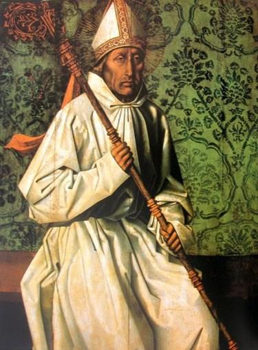São Teotónio - Religioso do séc. XII, fundador dos Cónegos Regulares da Santa Cruz e Santo Padroeiro da Diocese de Viseu