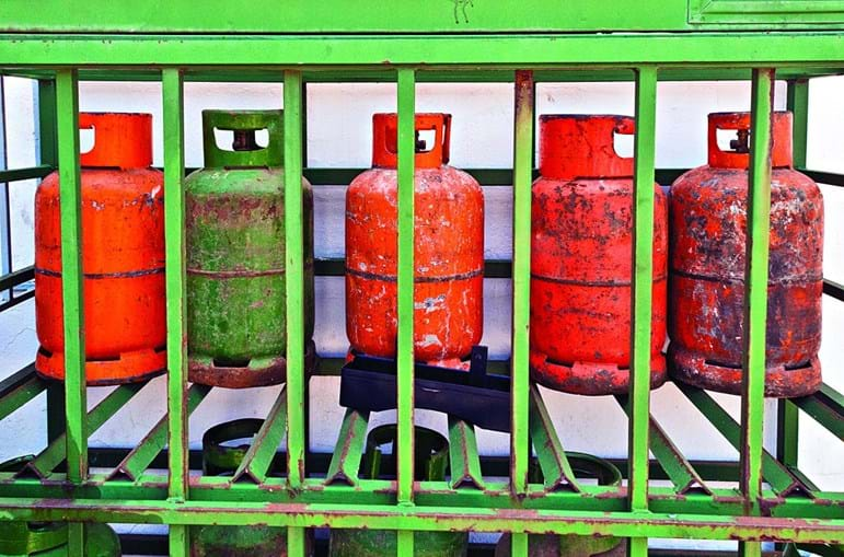 Botijas de gás