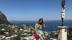Luciana Abreu está 'feliz em Capri'