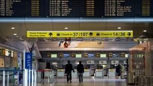 Trabalhadores da segurança dos aeroportos em greve de 48 horas a partir de sábado