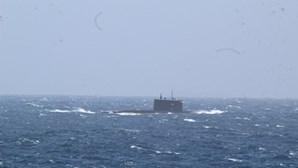 Marinha portuguesa acompanha submarino de ataque russo