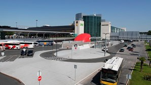 Transporte aéreo cai 93% em fevereiro, revela INE