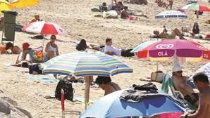 Cautelas nas praias com subida do calor