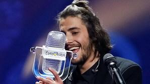 """Portugueses votaram nas canções """"rivais"""" de Salvador na Eurovisão"""