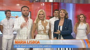 Maria Lisboa no Manhã CM