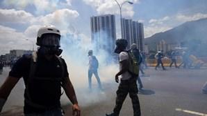 Seis luso-venezuelanos detidos em manifestações na Venezuela