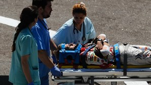 José Pedro Fontes sofre grave acidente no Rali de Portugal