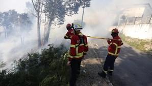 Fogo em Ourém está em fase de resolução