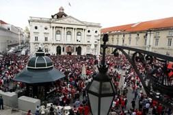 Mar vermelho recebe Benfica