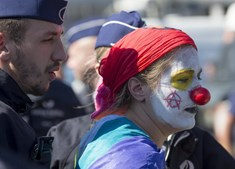 Mais de cem detidos em manifestação contra NATO em Bruxelas
