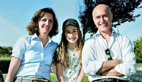 Ana, Matilde e o pai, Miguel Estiveira