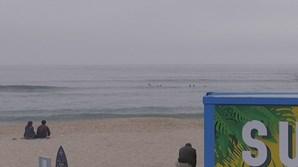 Surfistas salvam pai e filho em risco de se afogar
