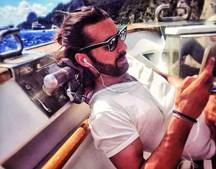 Daniel Souza é o novo companheiro da atriz da SIC