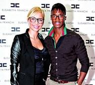 Luciana Abreu e Yannick Djaló