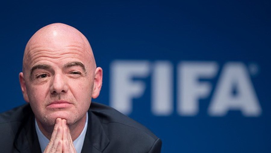 Gianni Infantino, o presidente da FIFA