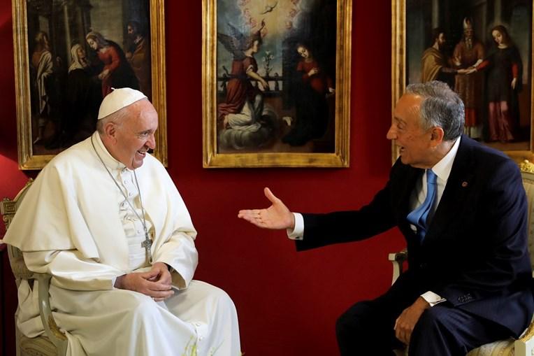Papa Francisco e Marcelo Rebelo de Sousa