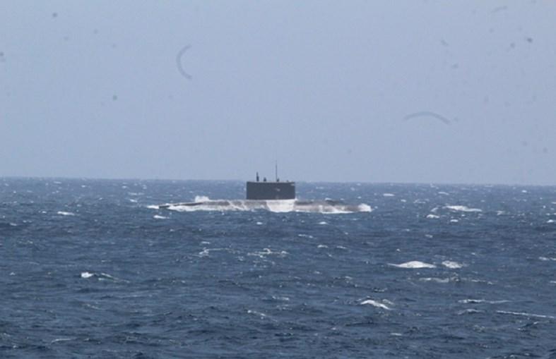 O submarino russo