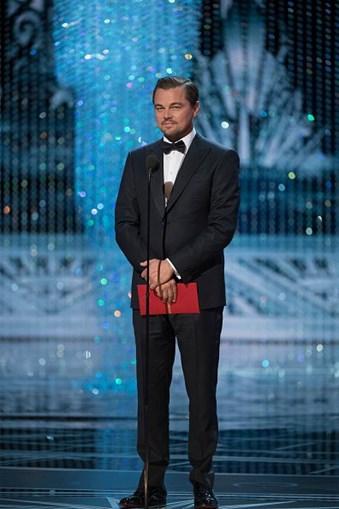 O ator norte-americano, Leonardo DiCaprio