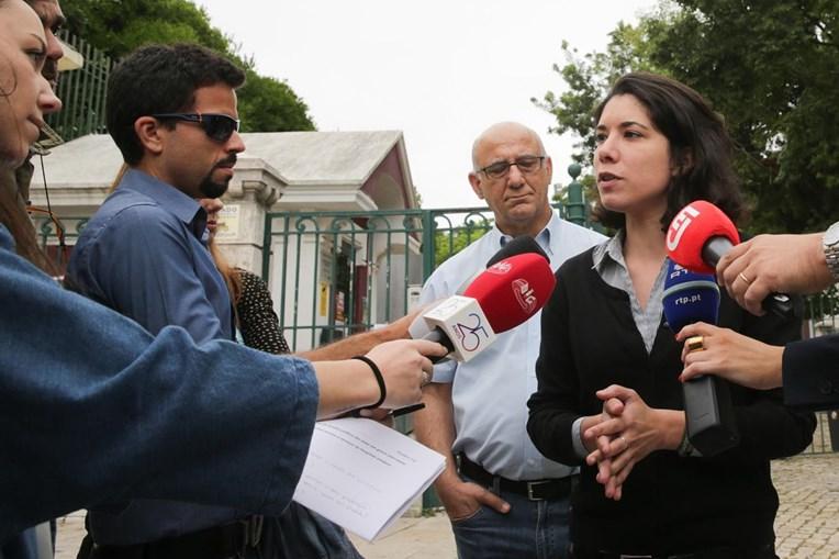 A deputada do Bloco de Esquerda, Joana Mortágua