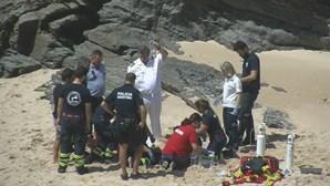 Morreu homem que salvou filha de se afogar em Porto Covo
