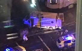 Carrinha que atropelou dezenas de pessoas em Londres