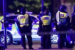 Londres, Incidente