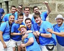 Iker Casillas em Navalacruz com os amigos