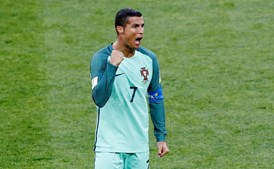 Cristiano Ronaldo é o jogador mais cotado na Taça das Confederações
