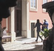 Maurizio Tramonte à chegada ao Tribunal de Évora