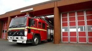Imagens foram captadas no interior de carro dos bombeiros de Manchester