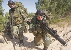 Tancos tem milhares de militares, a maioria pertencente à Brigada de Reação Rápida do Exército
