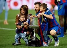 Lionel Messi e Antonella Roccuzzo, juntos desde 2008