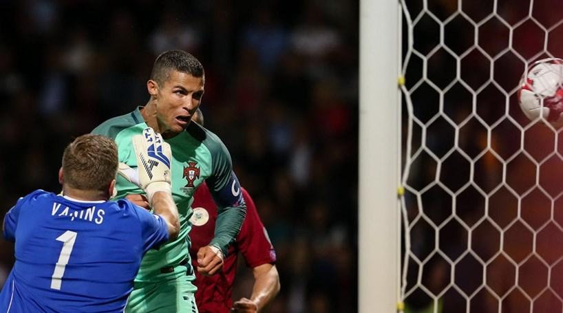 Ronaldo abre o livro na Letónia e garante vitória tranquila ... 8fc151dbca716