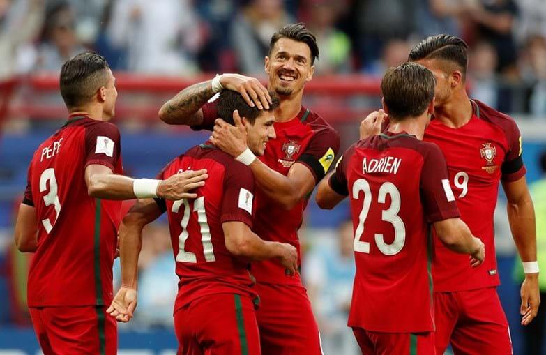 Seleção portuguesa empatou com o México