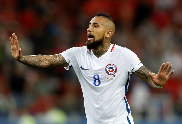 Chile e Camarões empatam por duas bolas