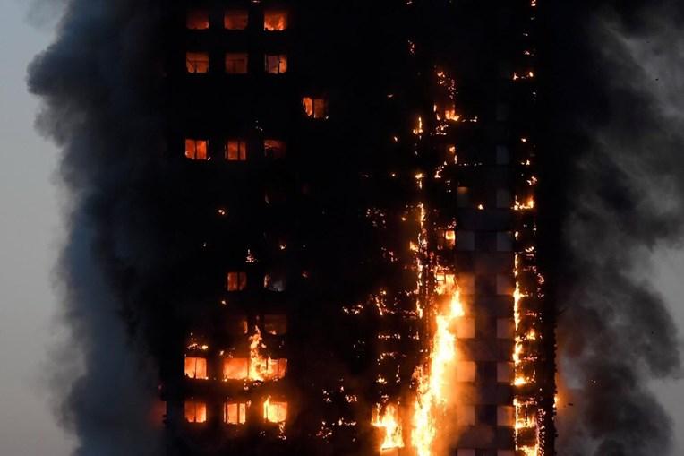 Incêndio na torre de Grenfell, em Londres