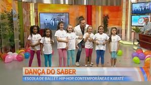 """As crianças do """"Dança do Saber"""" no Manhã CM"""