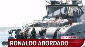 Iate de Ronaldo abordado pela Autoridade Tributária