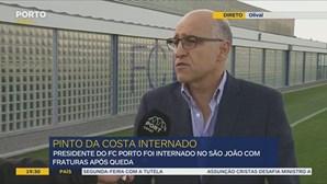 """Pinto da Costa """"está bem e consciente"""""""