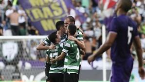 Sporting bate Fiorentina por 1-0 e conquista pela 6.ª vez o Troféu Cinco Violinos