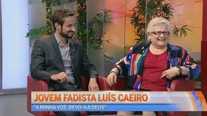 Jovem fadista Luís Caeiro